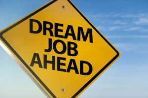 Dream job ahead / Warning sign concept (Click for more)